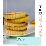 Mad Creations Keto Pie Crust Pastry