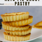 Our super easy keto pie crust is going to be your favourite new recipe. Absolutely the best and easy keto shortcrust pastry you will make! #ketopiecrust #ketopastry #ketorecipe #lowcarbrecipe #glutenfreepastry