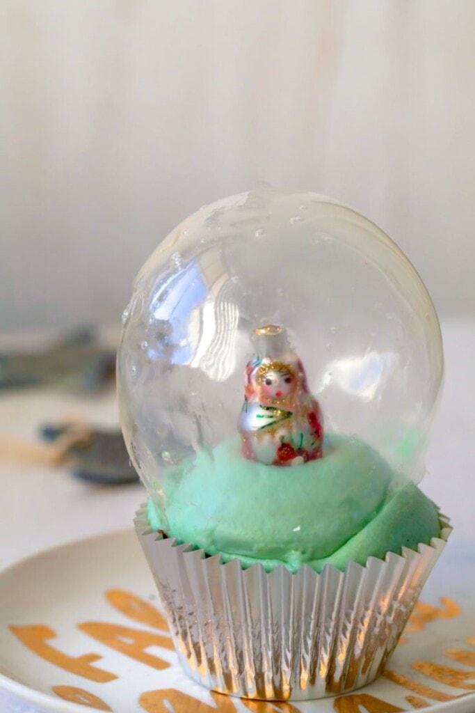 babushka in a snow globe
