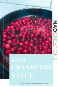 cranberries in a frying pan
