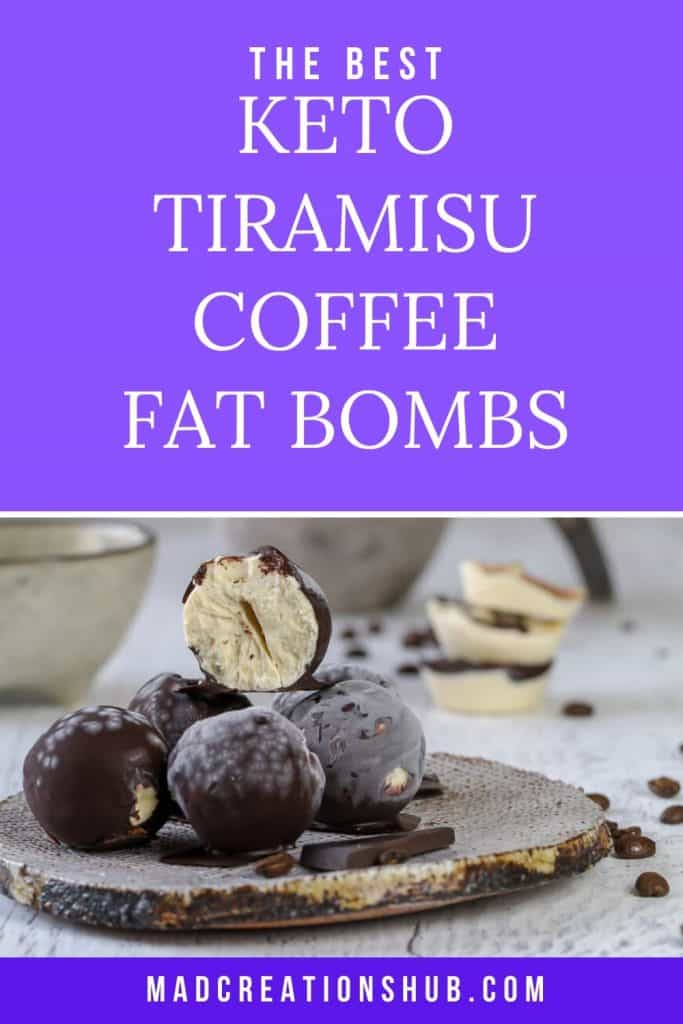 Keto Coffee Fat Bombs pinterest banner