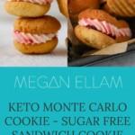 Keto Monte Carlo Cookie Pinterest Banner