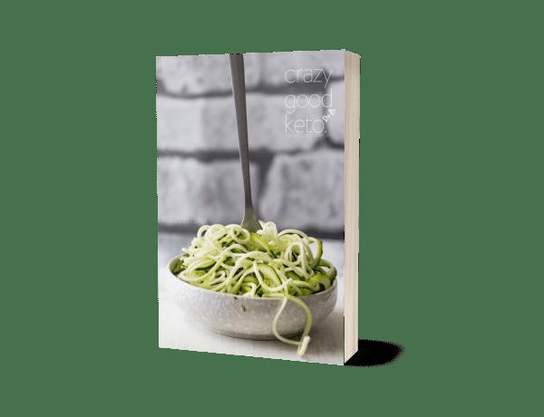 Crazy Good Keto Cookbook cover