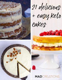 best keto cakes banner