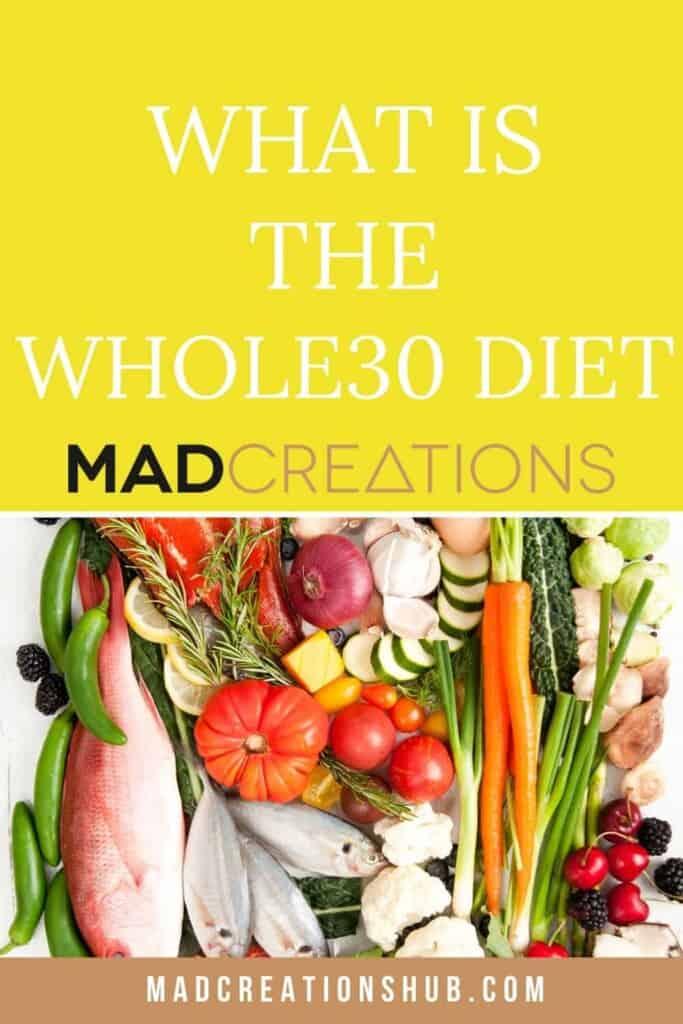 whol30 diet pinterest banner