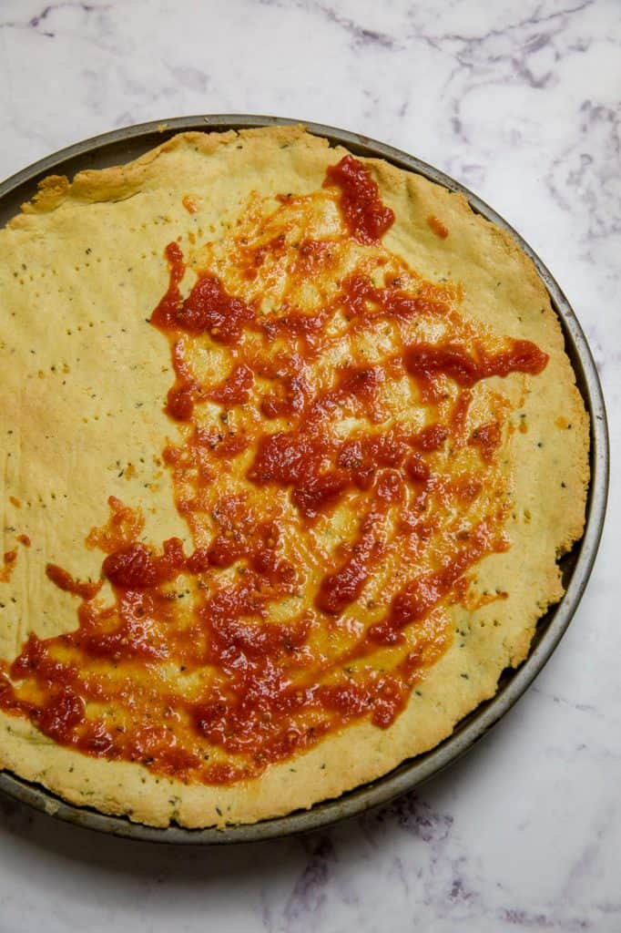 marinara sauce easy keto pizza crust
