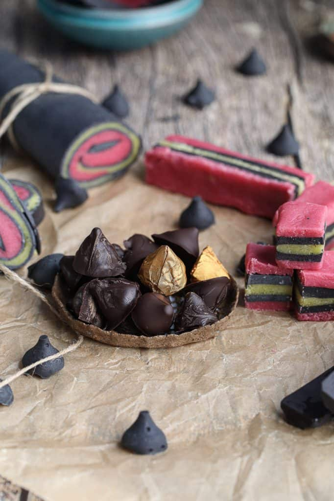 licorice bullets and keto candies