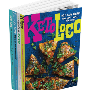 Keto Quad Pack book covers
