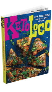 Keto Loco Cookbook Cover