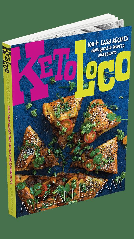 Keto Loco Cookbook Cover