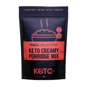 Keto Creamy Porridge Mix packet.