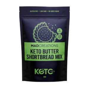 Mad Creations Butter Shortbread Mix packet.