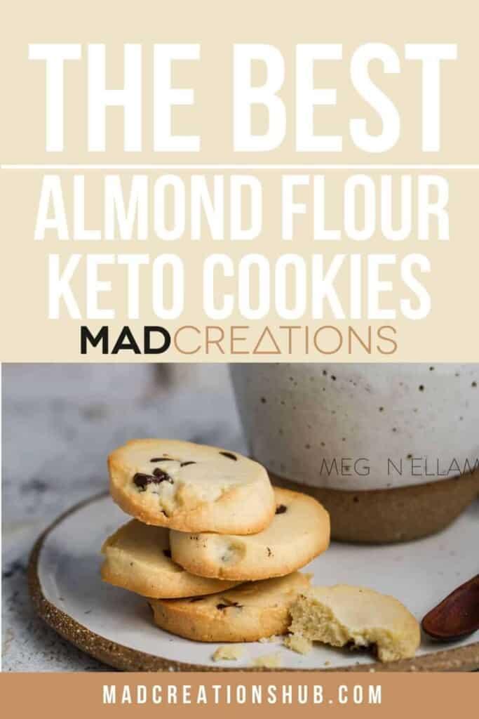 Almond Flour Cookies Pinterest banner.