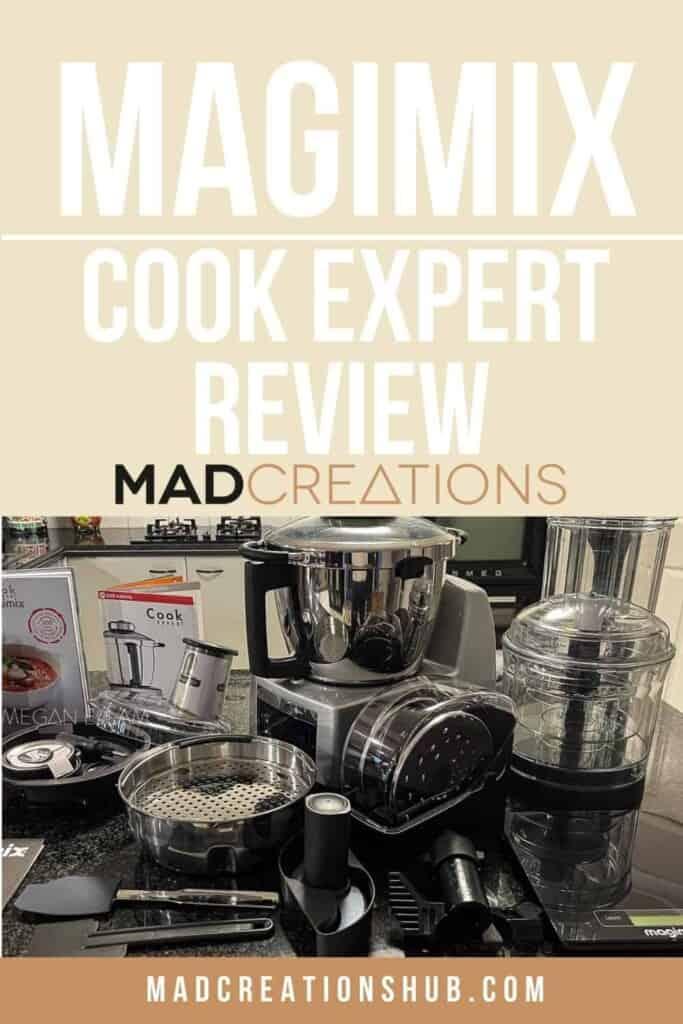 Magimix Cook Expert Pinterest banner.
