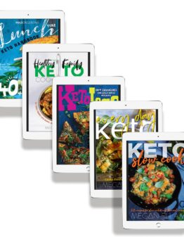 MAD Keto eBook Collection ipad covers.