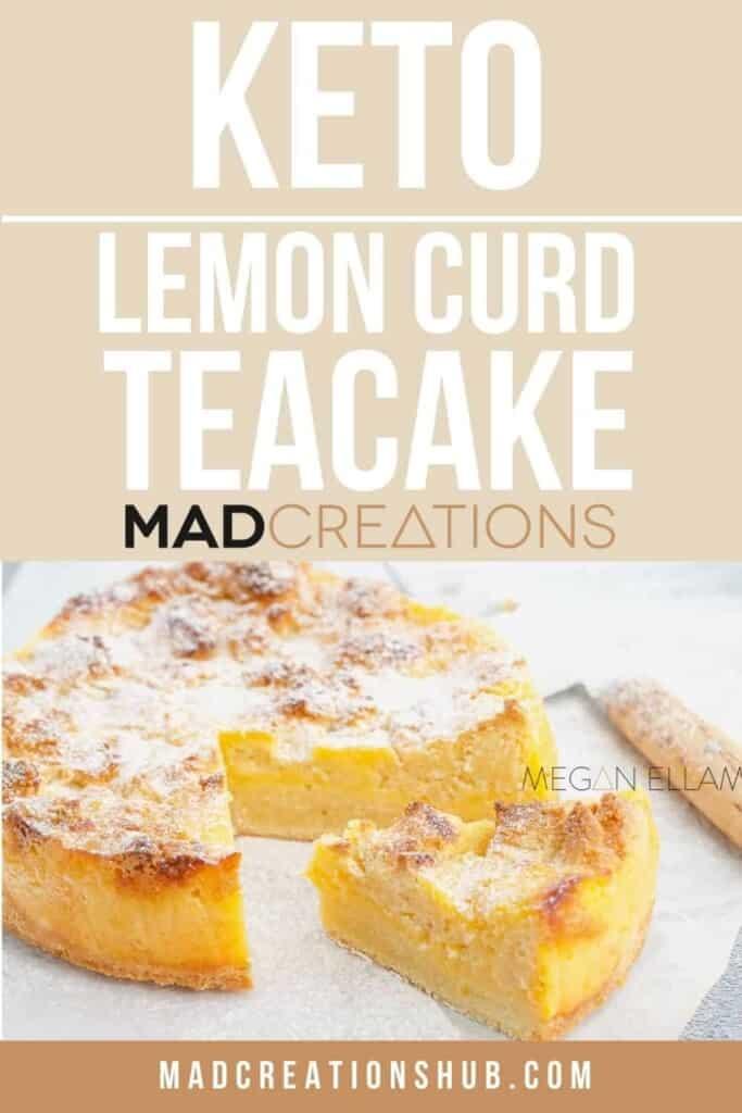 Lemon Curd Cake Pinterest Banner
