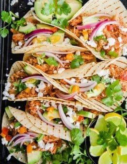 Keto tortilla tacos