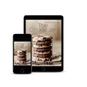 Cookies on an iPad.